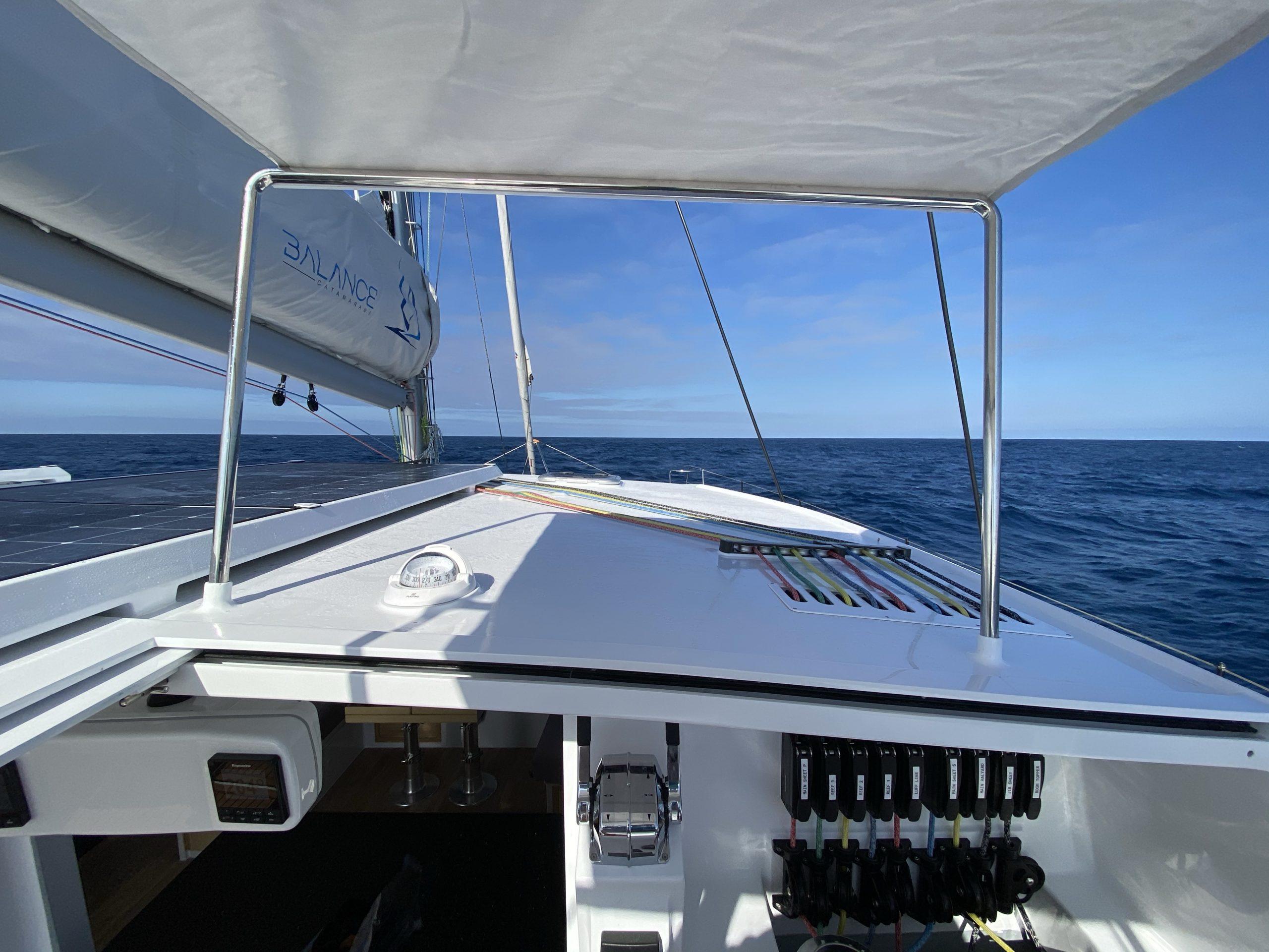 Vingilótë's Single-handled Sailing Setup