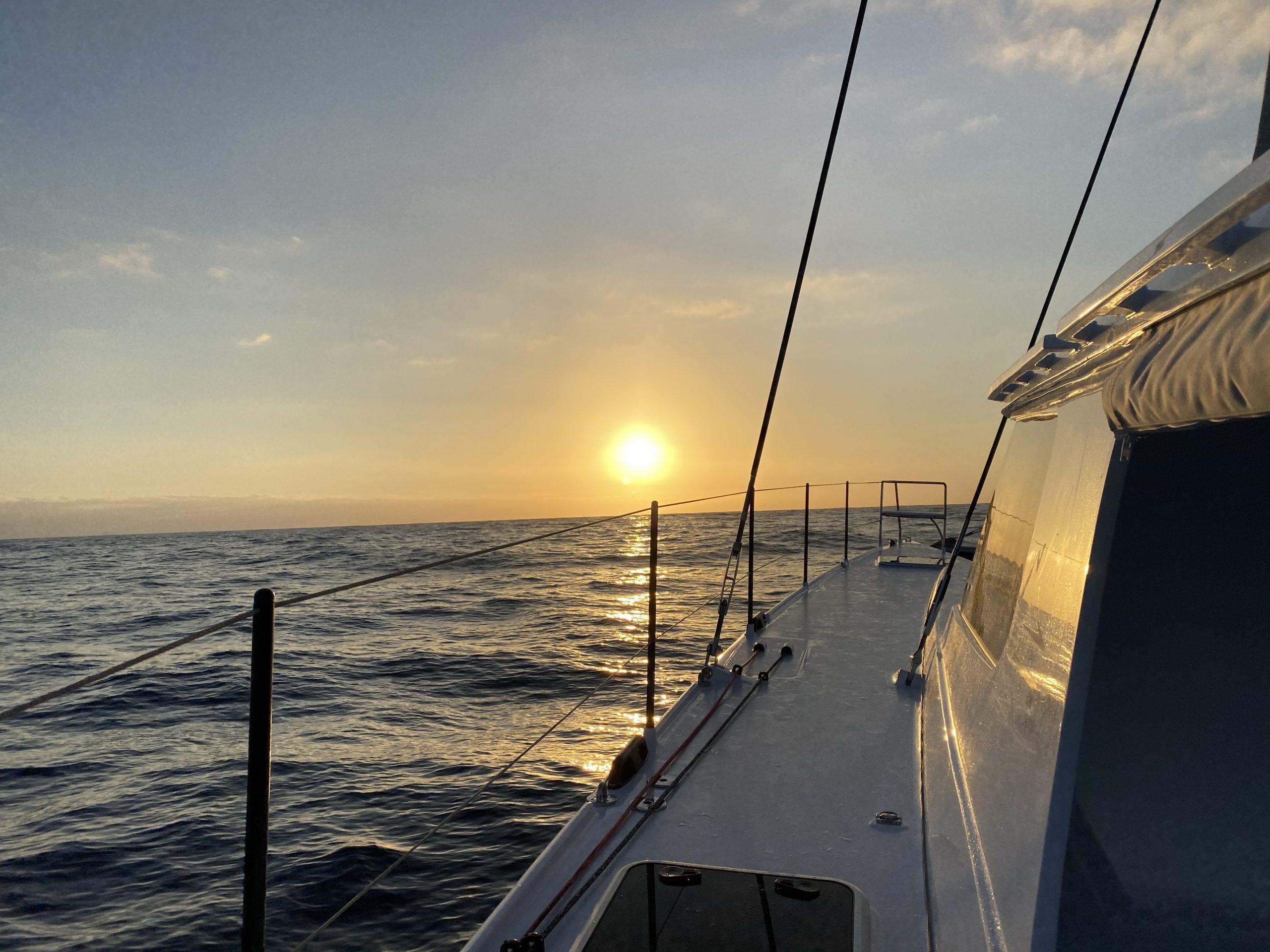 Our First Sunset from Vingilótë