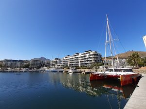 To Cape Town's Inner Harbor for final bits