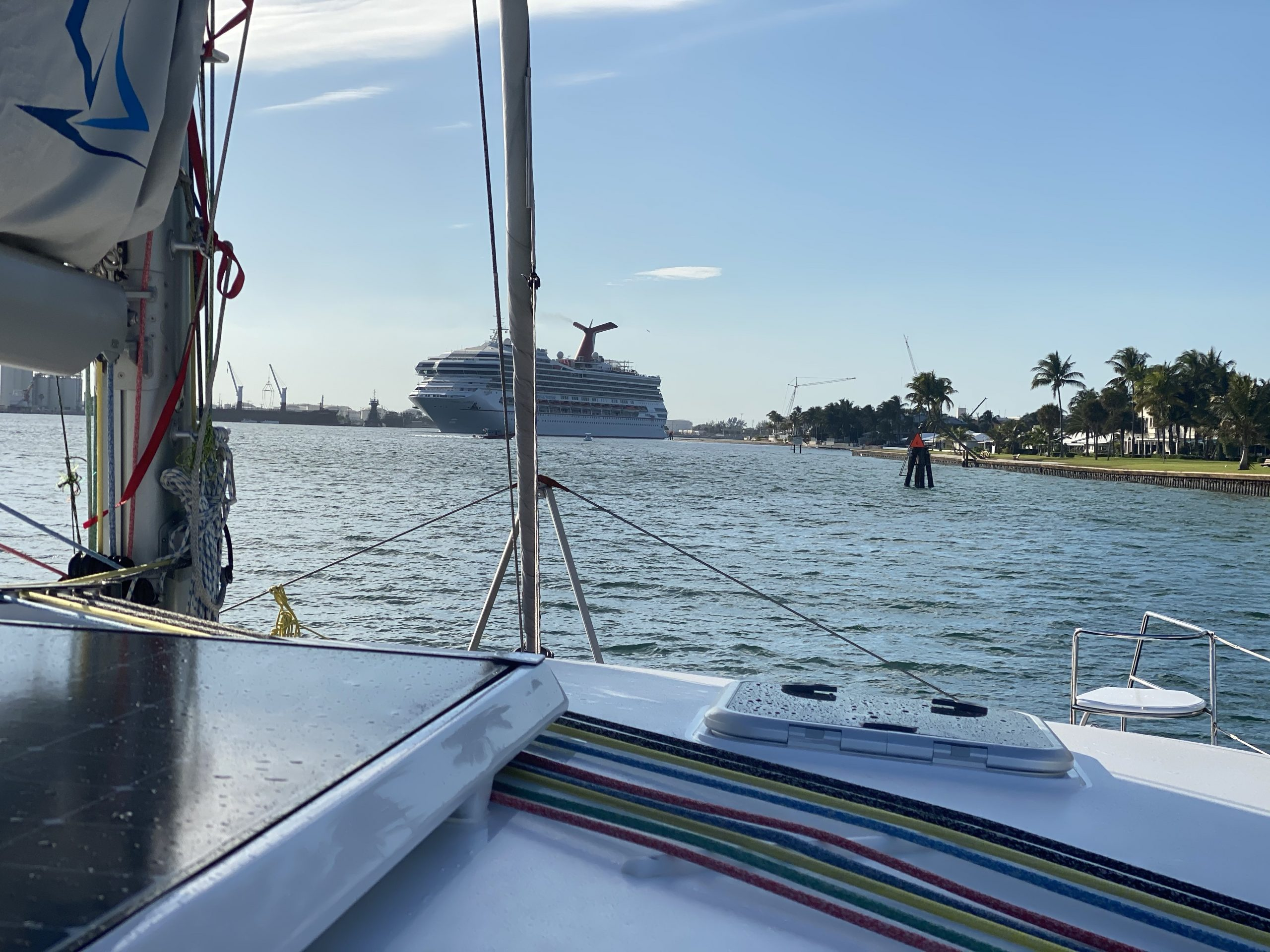 Into Fort Lauderdale