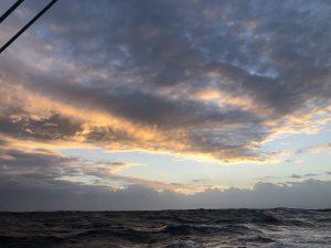 Last night at sea