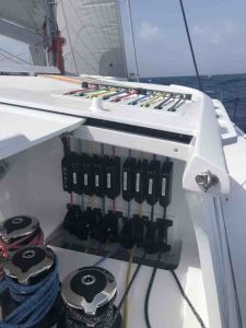 Reefing and wind
