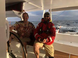 Back onboard!