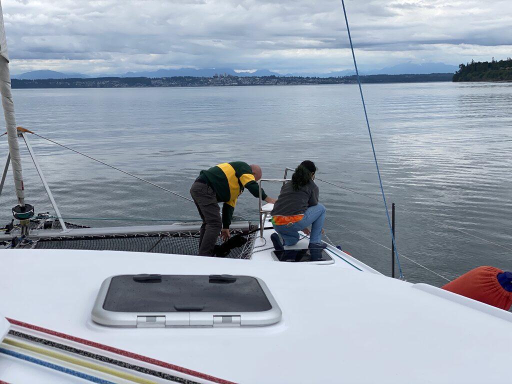 Vingilótë's OG ocean crossing crew's last mile