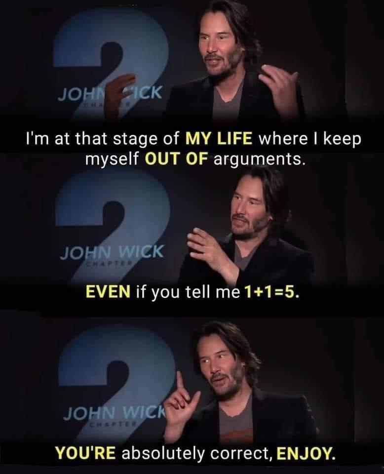 You say 2 + 2 = 5, huh?