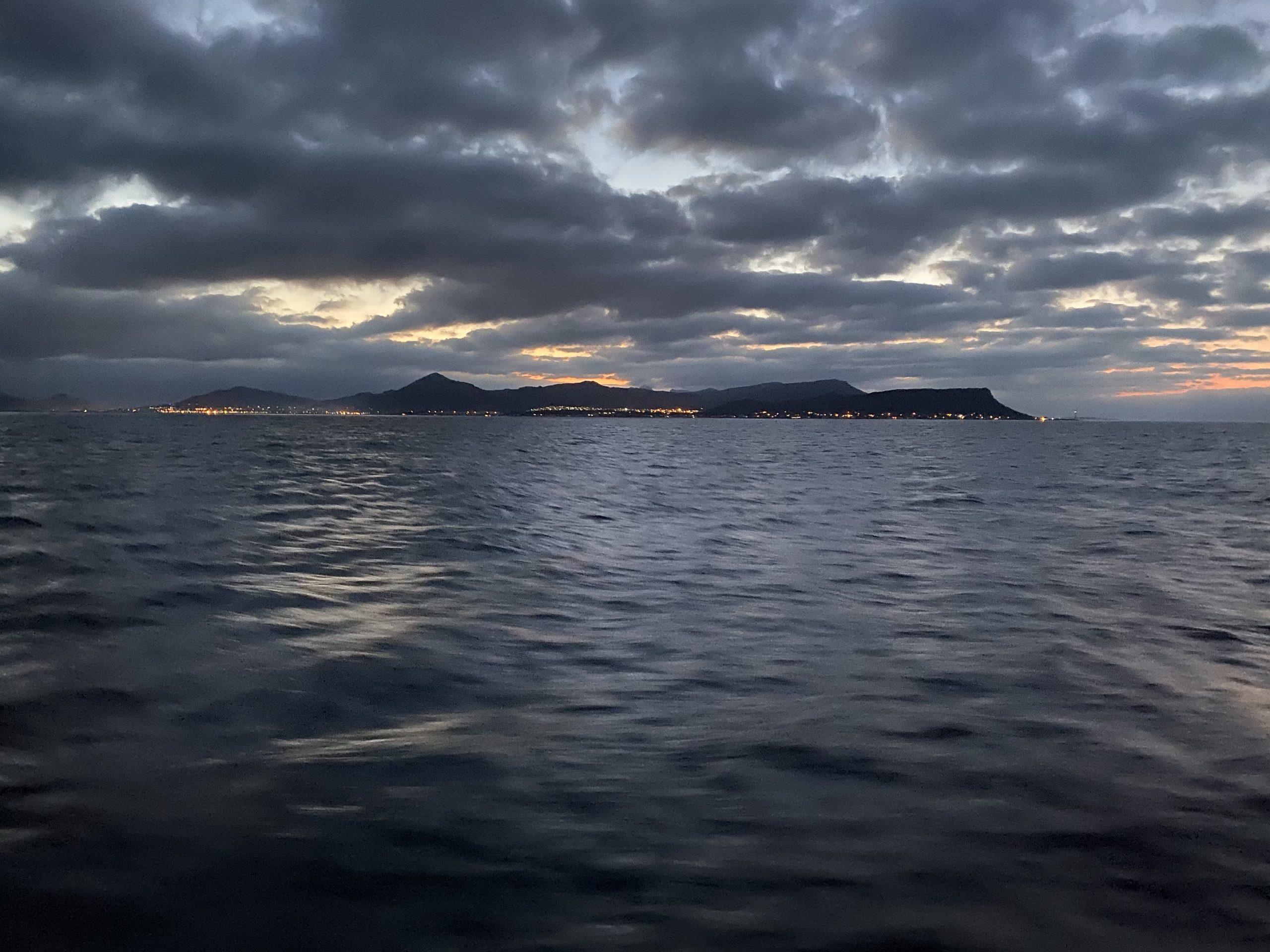 Second Night at Sea