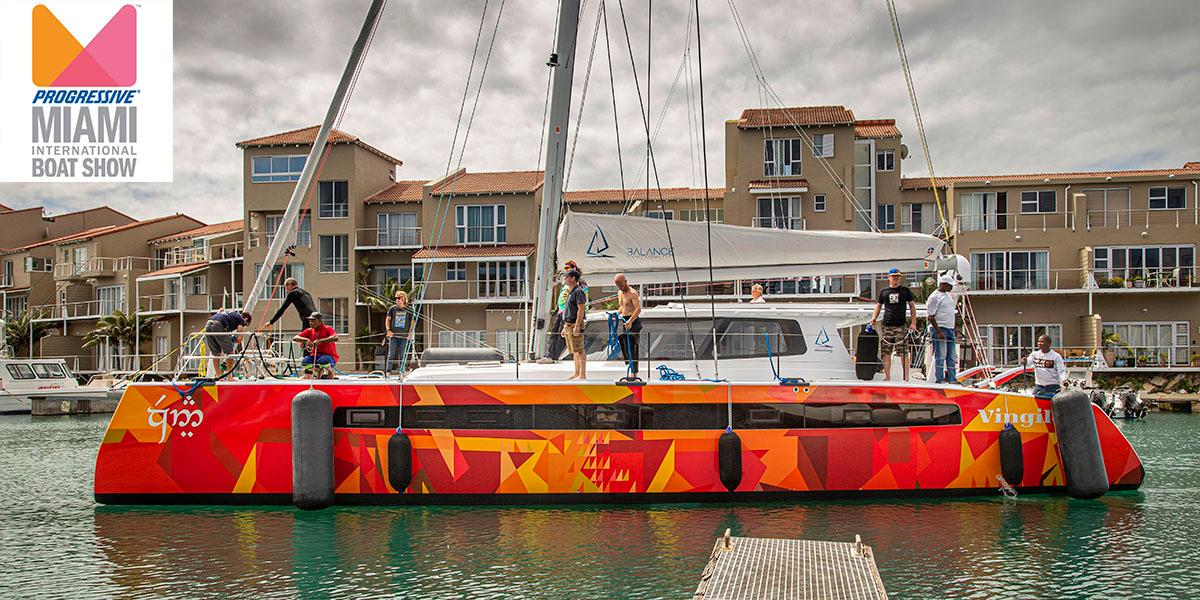 "View ""Vingilote"" at The Miami Boat Show"