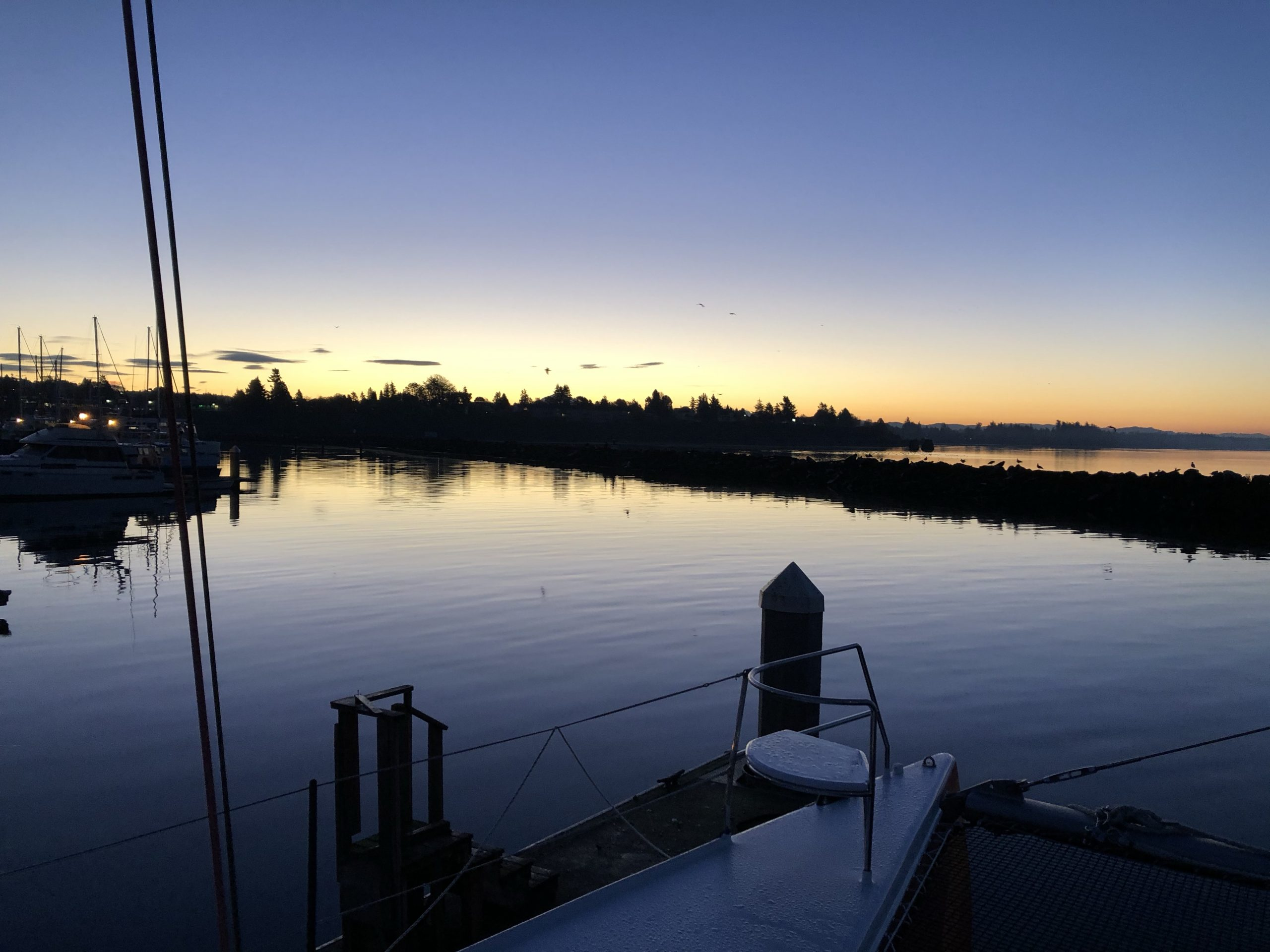 Pre-dawn in Blaine