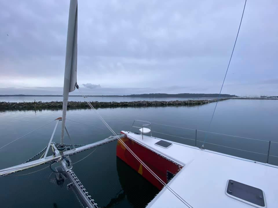 Tomorrow! About 70 nautical miles of sailing…