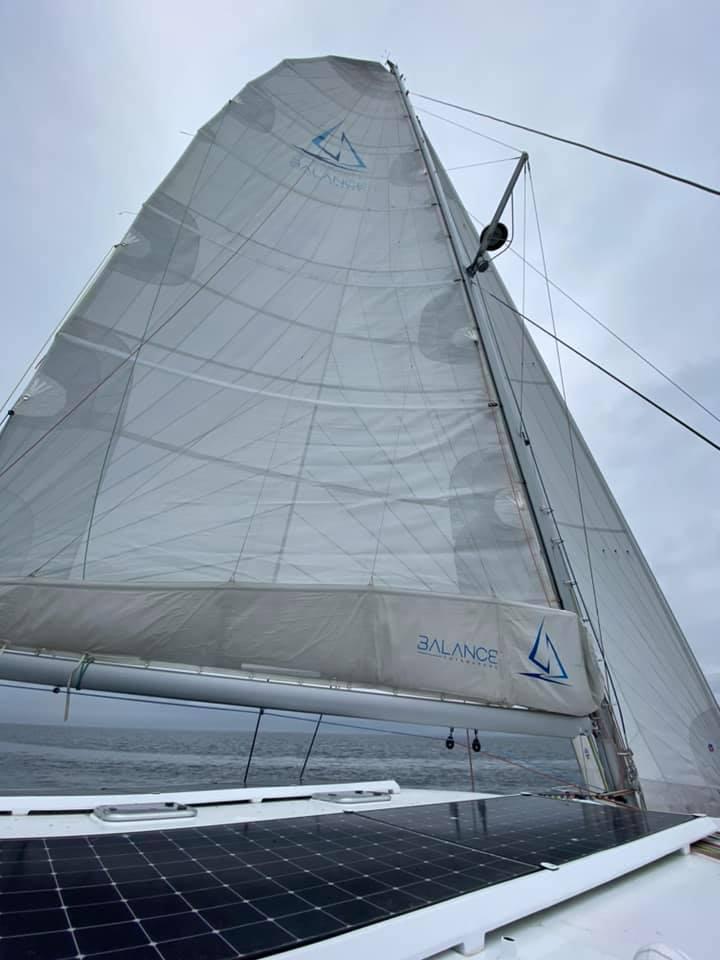 Five knots true wind speed ..