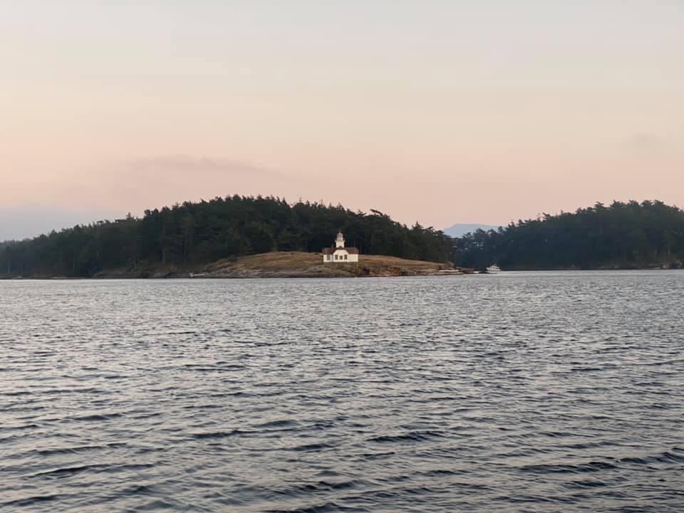 Lighthouse on Patos Island