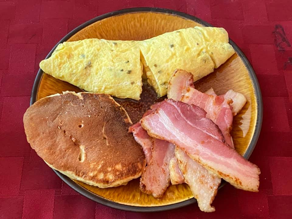 """Brunch. The quote """"Is it too early for flapjacks?"""" led to sourdoug"""