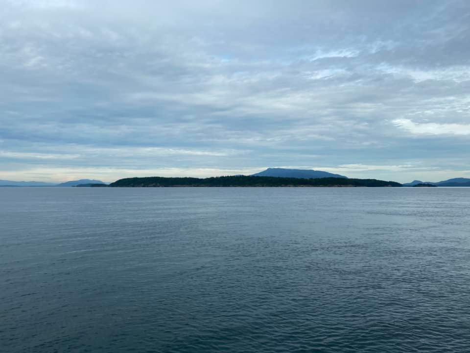 And Sucia Island to Port
