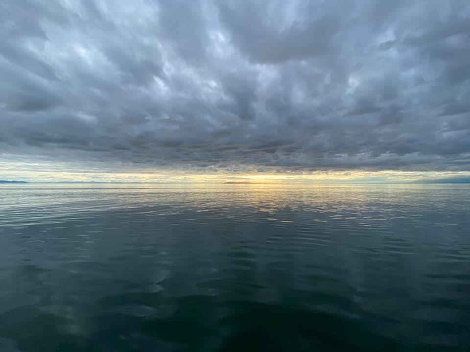 A view of Georgia Strait