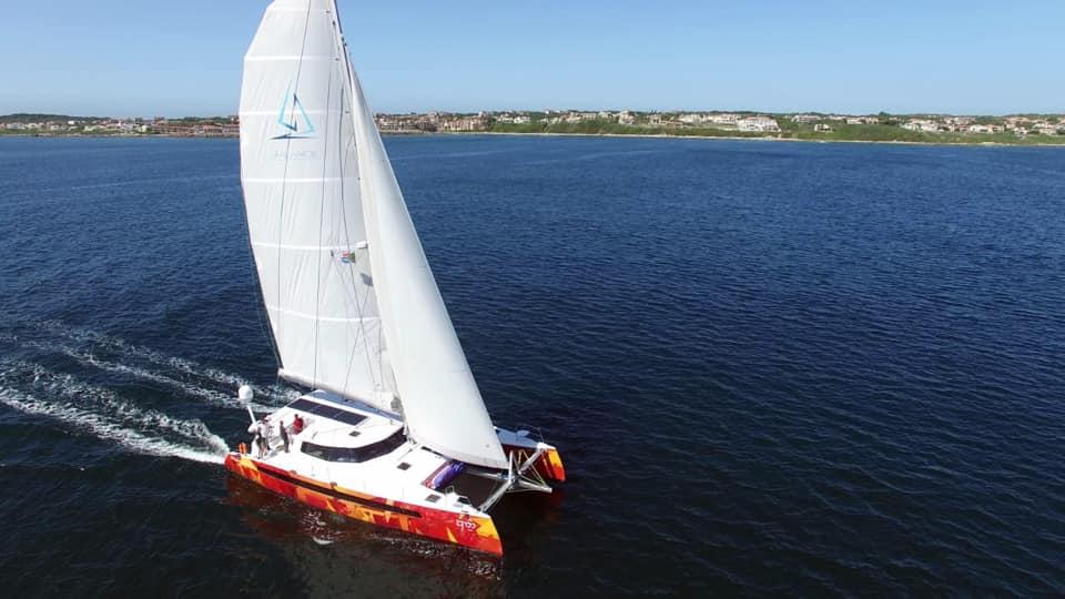 Vingilótë under sail