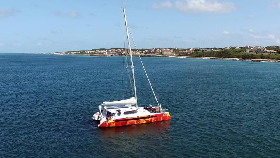 Vingilótë's first sea trial!