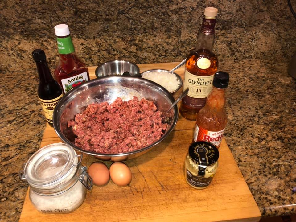 What goes into my steak tartare (at least today
