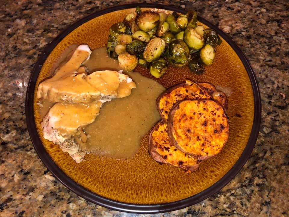 Christmas Dinner: smoked turkey…