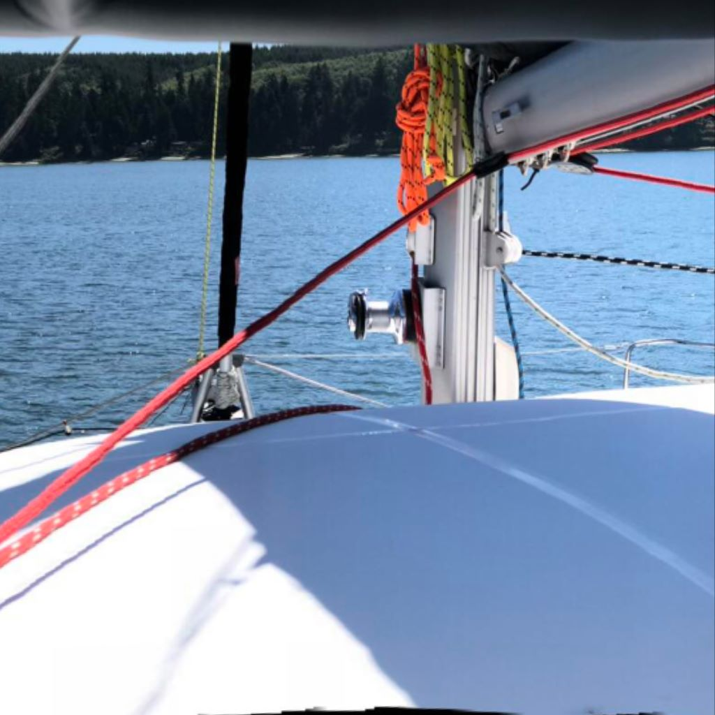 My current job: driving the boat…