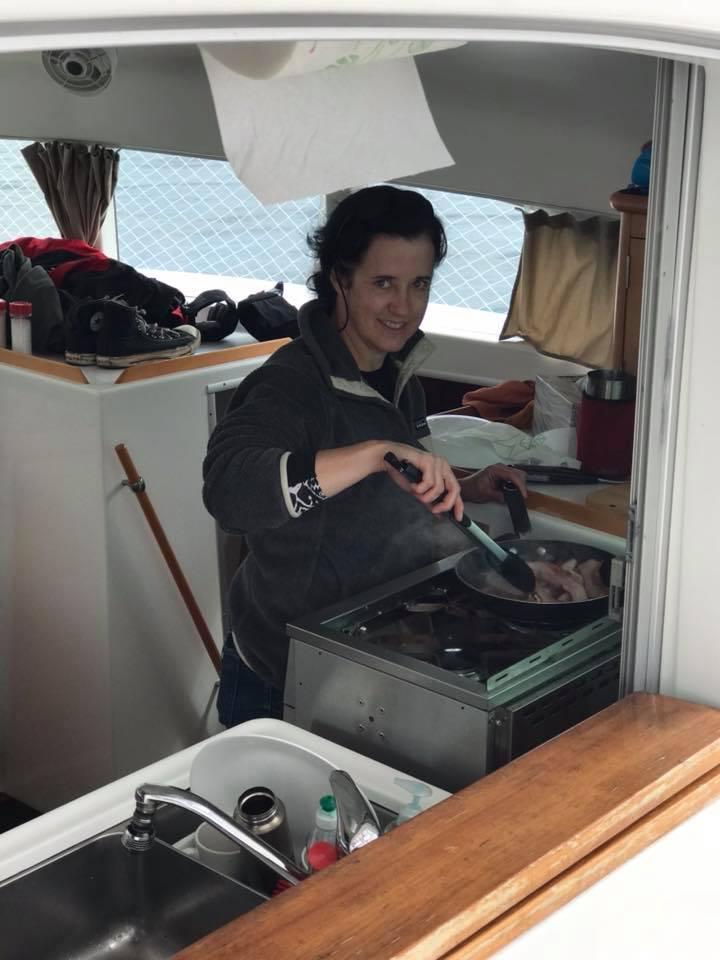 This is why I love a catamaran sailing yacht