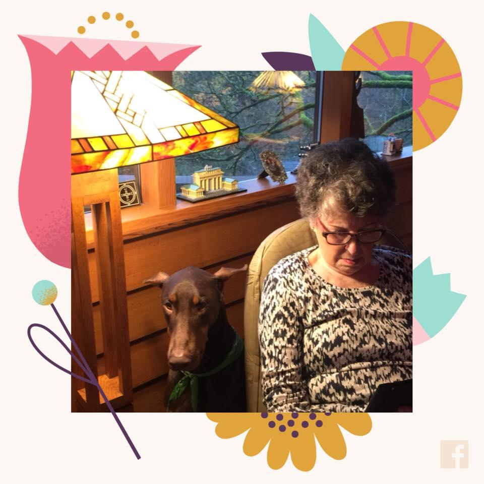 My mother, Anni Voskamp-Bok…