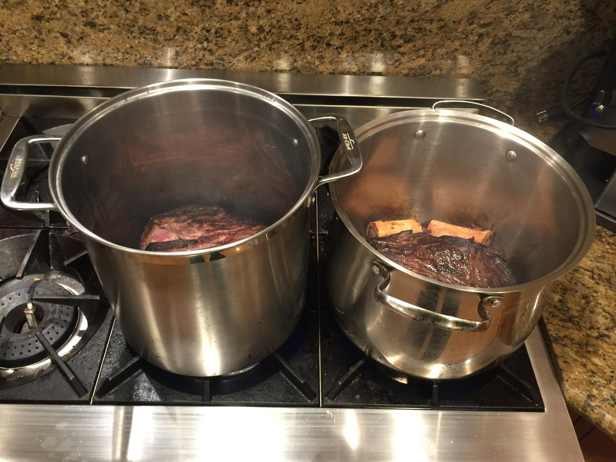 20 pounds of sauerbraten in the making (part 2)