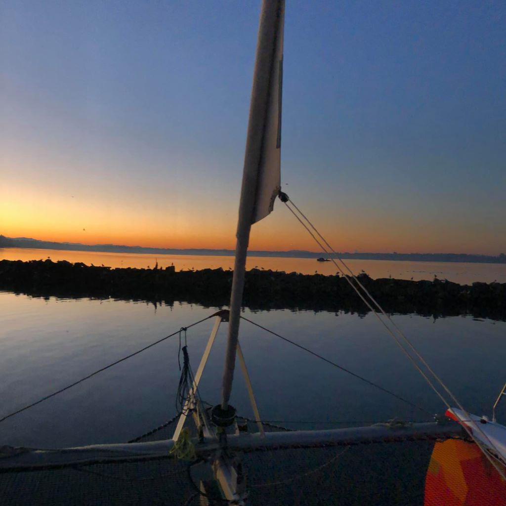Pre-dawn at Blaine