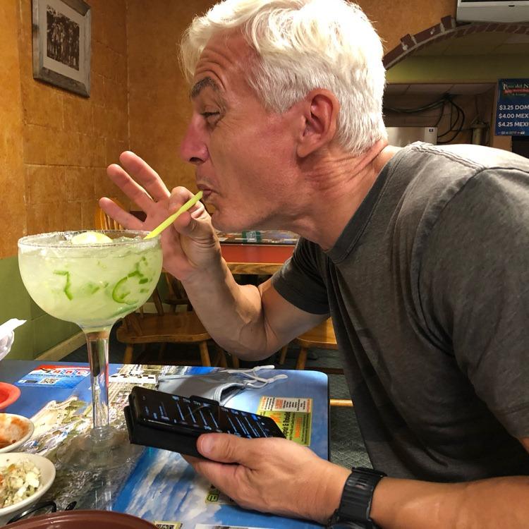 Ian felt his first jalapeño margarita wasn't spicy enough…