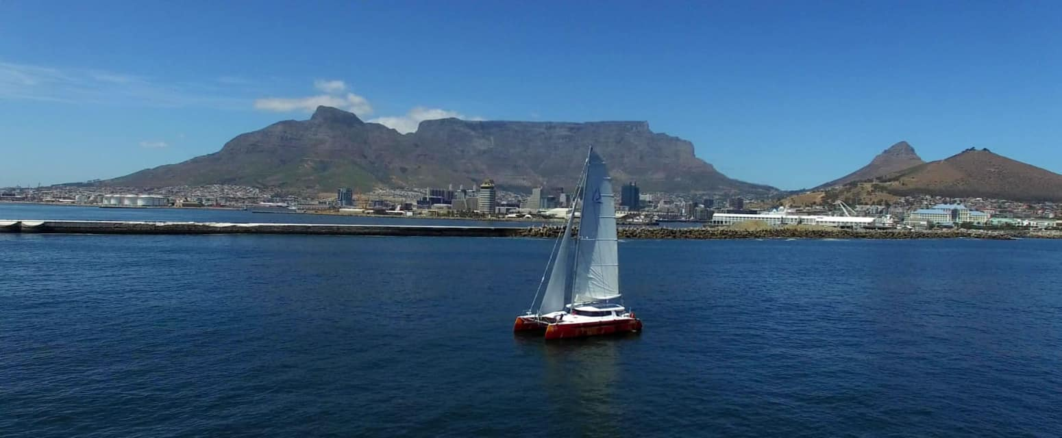 Sunday sail up to Cape Town
