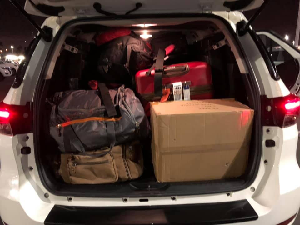 Got luggage, got Rory…