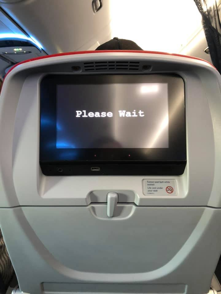 Now, doesn't that just epitomize the air travel experience?