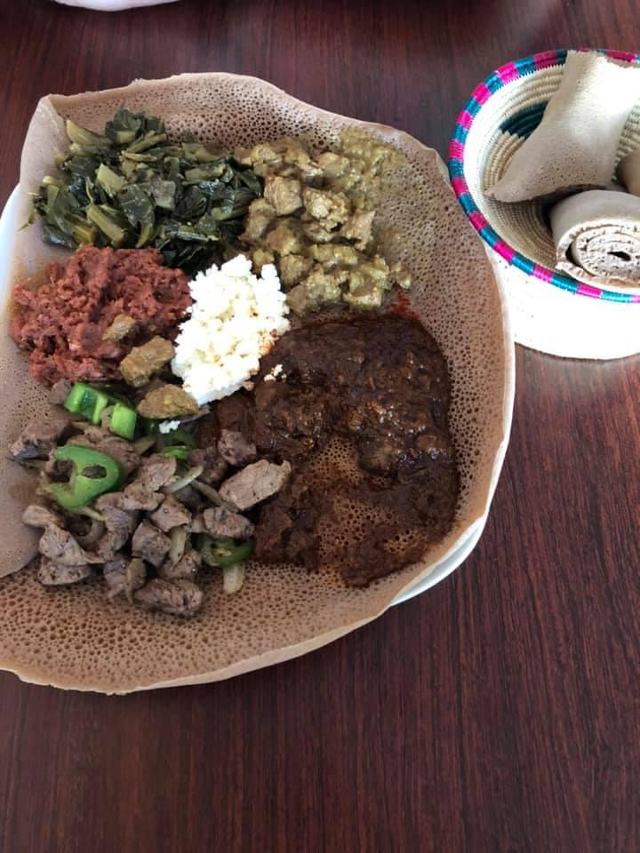 Superb Ethiopian food