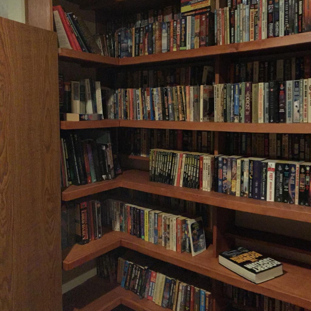 Yes, we really have that many books