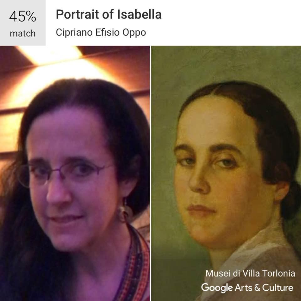 Google arts and culture's portrait match is pretty entertaining
