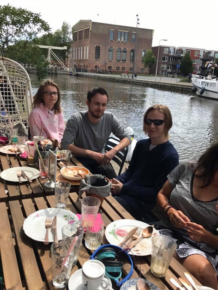 Family in Den Haag