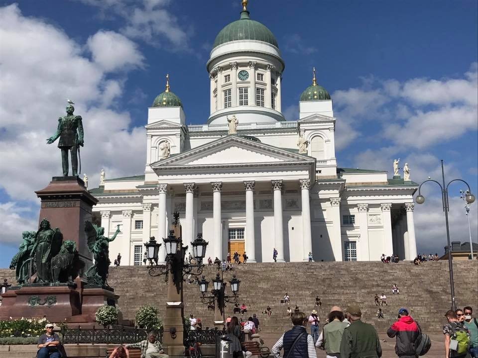 Helsinki cathedral. Pretty